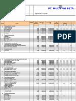Arus Kas_jadwal Peralatan_jadwal Material