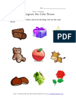 Color Brown Recognition