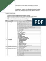 Daftar Tindakan Informed Consent