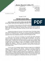 Press Release Regarding State Senator Charles Schwertner