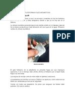 informe mantenimiento preventivo