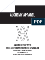 alchemy apparel annual report