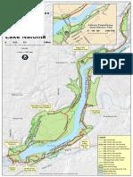 FLSRA Trail Map Lake Natoma