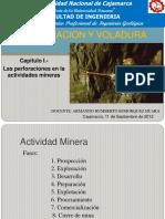 Cap. 01.- Las Perforaciones en Las Actividades Mineras