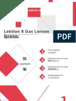 Lektion 8 Das Lernen lernen .pptx