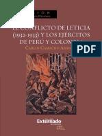 El Conflicto de Leticia 1932-1933 - Carlos Camacho Arango
