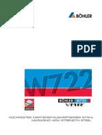 Hochfester Martensitaushärtbarer Stahl - W 1.2709