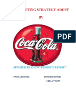 27094287 Marketing Strategy Adopt by Coca Cola Final 3