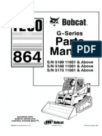 Bobcat T200 864 G-Series Compact Track Loader Parts Catalogue Manual SN 5168 11001 & Above.pdf