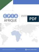 Evaluation Des Institutions Et Des Politiques en Afriques