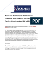 Flow Computer Market 2026 by Acumen Research and Consulting