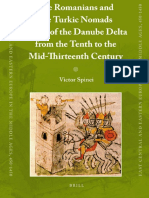 Romanians and the Turkic Nomads Mid 13th Century 1col