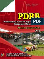 PDRB-Kabupaten-Rejang-lebong-Menurut-Lapangan-Usaha-2013--