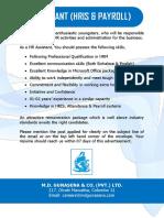 HR Assistant - MDG.pdf
