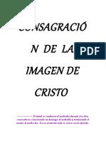 CONSAGRACION DE LA IMAGEN DE CRISTO.rtf