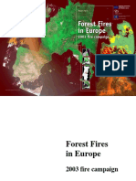 05 Forest Fires in Europe 2003 Fire Campaign