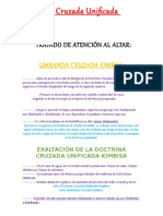 Doctrina Cruzada Unificada Kimbisa
