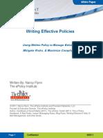 Prevalent WritingEffectivePolicy WPf
