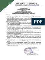 Pengumuman Hasil Ujian SKD CPNS Provinsi Sumbar 20181