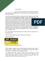 """Carta de la campanya  """"Silenci contra la repressió, per la llibertat"""" lliuraran al jutge Pablo Llarena"""