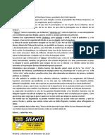Carta a Manuel Marchena Gómez, presidente de la Sala Segunda del TS