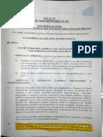 Ley 977 Insercion Laboral Personas Con Discacidad