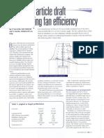 Optimising Fan Efficiency