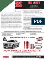 GVM Isuzu D-Max Flyer