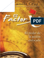 Fragmento Del Libro Factor x de Camilo Cruz