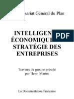 Rapport Martre - intelligence économique et stratégie des entreprises