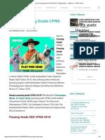 Berapa Passing Grade CPNS 2018_ - Belajar Bisnis - AdSense - CPNS Online