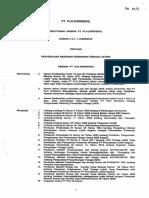 SK.163.DIR Penyesuaian Rekening Pemakaian Tenaga Listrik