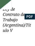 Ley de Contrato de Trabajo (Argentina)_Título V vacaciones y otras licencias - Wikisource.pdf