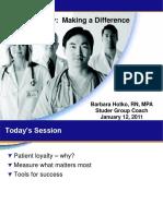 Building Patient Loyalty