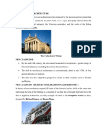 Neo Classicism& Modernity