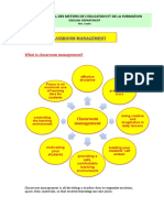 What is Classroom Management