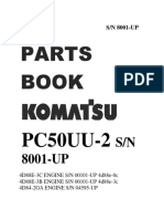 Demo Parts Book Pc50uu-2