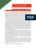 Apuntes de Marx y La Dialc3a9ctica de Ernst Bloch