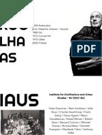 HTAU4 Koolhaas - Junkspace