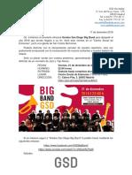 GSD Bing Band Concierto 21.12.18