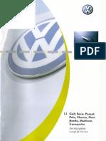 Carte Service Golf 4, Bora, Passat, Polo, Sharan, New Beetle, Multivan, Transporter - Forum.pdf