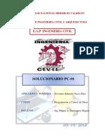 SOLUCIONARIO PC01