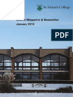 St Aidan's Newsletter & Magazine - Jan 2019