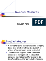 Anti Takeover Measures (1)