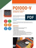 PQ1000 v Brochure