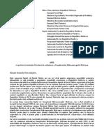 APEL cu privire la intenţia Ucrainei de extindere a Complexului Hidroenergetic Nistrean