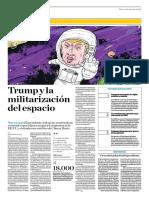 Trump y La Militarización Del Espacio