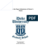 Paper Masters Guide 2010