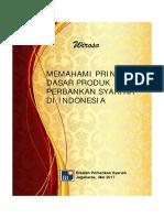 Buku Prinsip Dasar Produk Perbankan Syariah