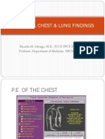 Abnormal Chest & Lung Findings